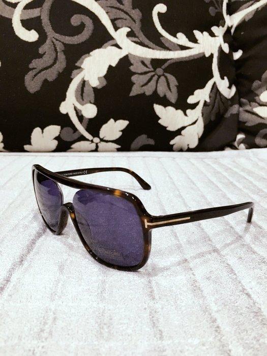 全新 美國購回 TOM FORD   玳帽 太陽眼鏡 FT 0442 男女皆適合
