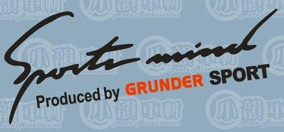 【小韻車材】汽車燈眉 MITSUBISHI  三菱 GRUNDER 汽車改裝 車貼 貼紙 防水 COLT PLUS