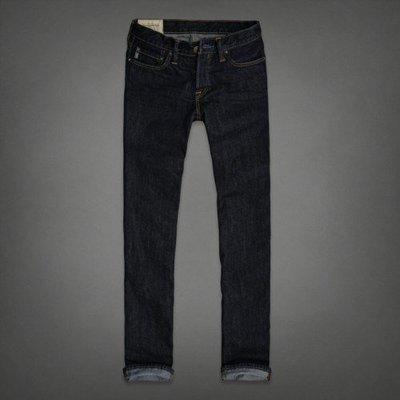 A&F 男 CLASSIC STRAIGHT 原色牛仔褲 33腰 全新 現貨