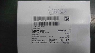 SIEMENS 6SL3055-0AA00-4BA0 S120 Operator Panel