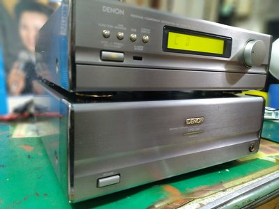 DENON.UPT-250.UPO250高級.收音前級-后級.兩部擴大機.