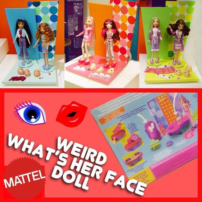 Colorful DAY 三款組合美泰兒芭比Barbie系列千面俏佳人模特兒三款精裝版創意多變場景組絕版品