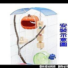 中和寵翻天寵物家族☆蜜袋鼯專用陶瓷南瓜糖果屋