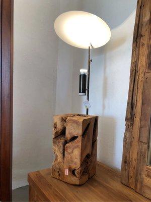 老柚木立燈 (三種尺寸)-Xilon Floor Lamp