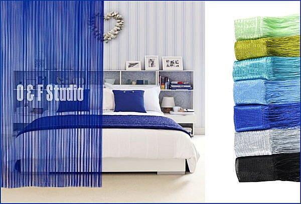 居家達人-素色高密線簾100X280CM+/-10CM 多種顏色供選擇 居家 店面 民宿!