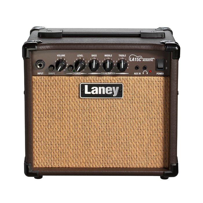 《小山烏克麗麗》英國 LANEY LA15C LA-15C 15瓦 烏克麗麗音箱 吉他音箱 原廠公司貨 一年保固