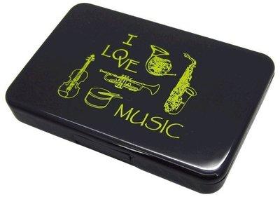 【音樂收納盒/名片盒】音樂 樂器 音符 五線譜 管樂 國樂 絲竹 弦樂 鋼琴 鍵盤《米思熊》