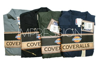 【IMP】Dickies 48799 Deluxe Coverall Blended 長袖 連身工作服 4色