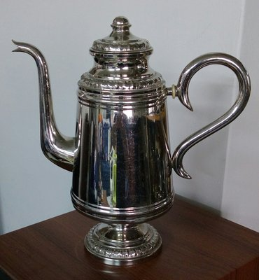 156瑞典鍍銀壺 Swedish Silverplated coffeepot