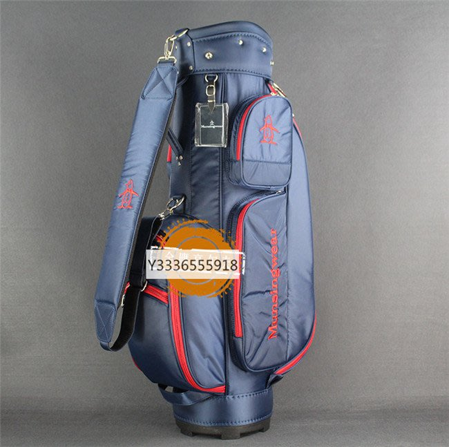 5C精選@新款企鵝高爾夫球包標准球包全套球杆包 耐磨耐用 輕便尼龍布包