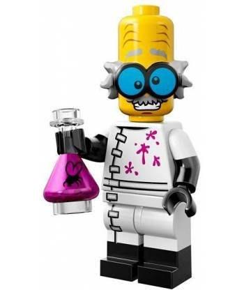 現貨【LEGO 樂高】益智玩具 積木/ Minifigures人偶系列: 14代人偶包抽抽樂 71010   瘋狂科學家