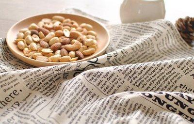 【#014 newspaper】棉麻桌布♣餐墊♣餐布♣餐巾布♣茶巾♣拍攝背景布 :::宅優物:::