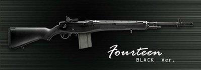 【WKT】G&G GR14 Fourteen 黑色版 6mm 電動槍,電槍-EGM-014-BLK