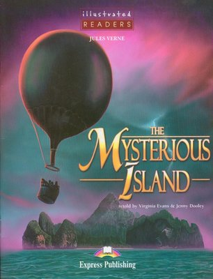 【讀本/漫畫/神秘島】illustrated READERS 2 :The Mysterious Island +CD