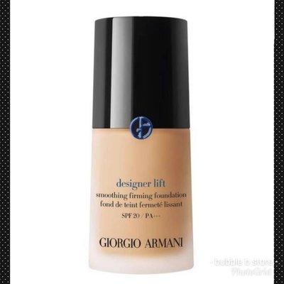 新品藍色商標  Giorgio Armani designer lift #2,3,4  設計師光感粉底液