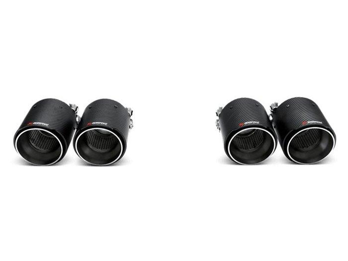 【樂駒】Akrapovic 蠍子 BMW F80 M3 F82 F83 M4 尾飾管 Carbon 碳纖維 LOGO