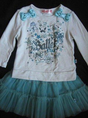 1/2美人魚*兒童 女童 二手出清 熱賣款 WHY AND 1/2 芭蕾系列 裙子 3號95cm 400元