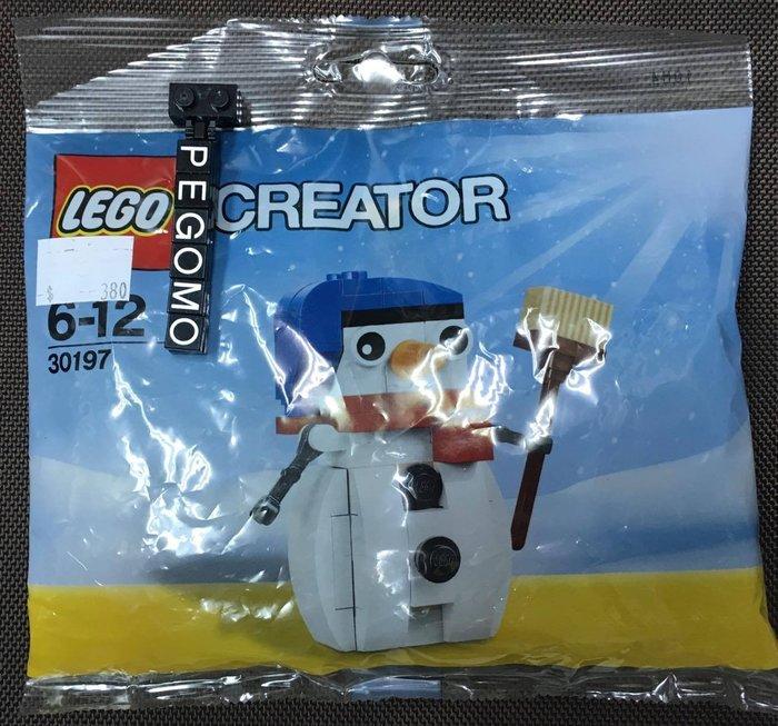 【痞哥毛】LEGO 樂高 30197 Creator 創意系列 雪人 全新未拆