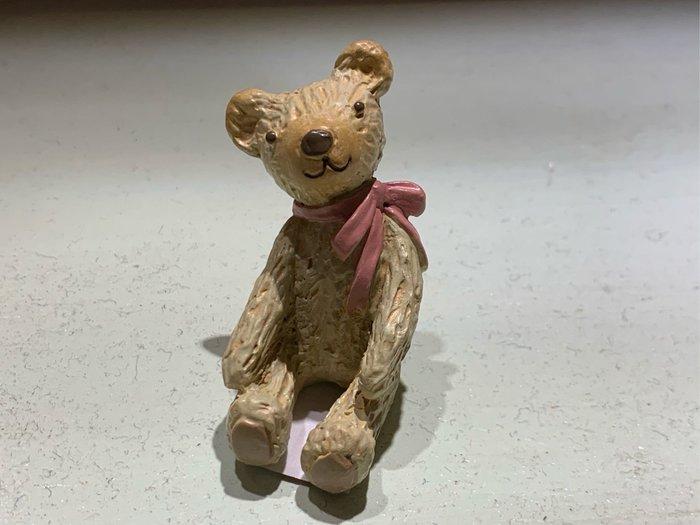 *黑頭小羊雜貨小舖*日本帶回zakka~鄉村雜貨/園藝雜貨 波麗材質仰望熊熊擺飾~小~特價