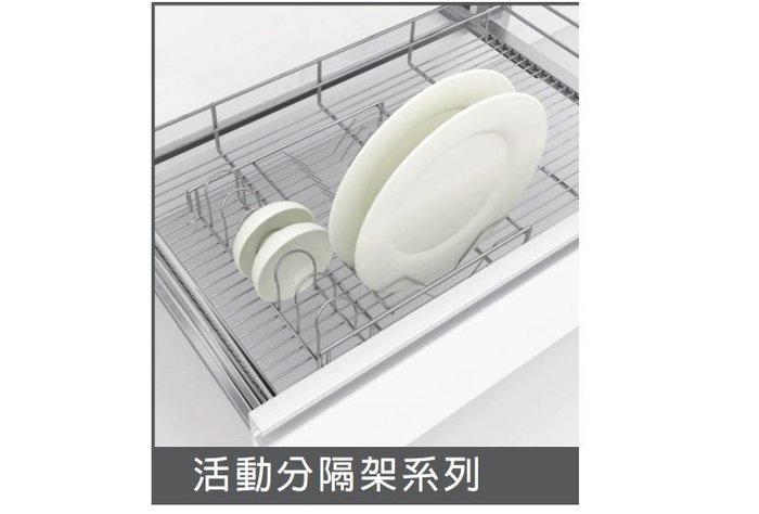 ╭☆魔法廚房 JAS不鏽鋼☆KE20A 碗盤架 插盤架《可放置流理台拉籃內》