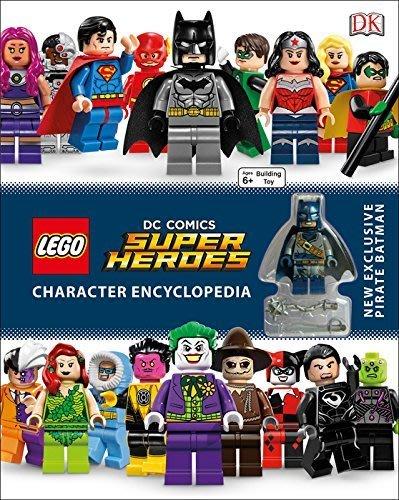 英國購入【LEGO 樂高】全新現貨 / 超級英雄Super Heroes: 207頁 人物百科全書 含人偶: 海盜蝙蝠俠