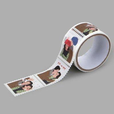 ❅PAVEE❅ 韓國Dailylike~ MT Stamp 戀戀手作 郵票造型紙膠帶~ 15 PHOTO BOOTH