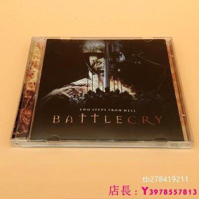全新CD音樂 地獄咫尺作曲 Two Steps From Hell Battlecry 戰吼 OST 2CD 原聲