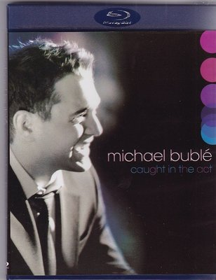 高清藍光碟 Michael Buble Caught in the Act 邁克.布雷 無盡魅力演唱會 25G