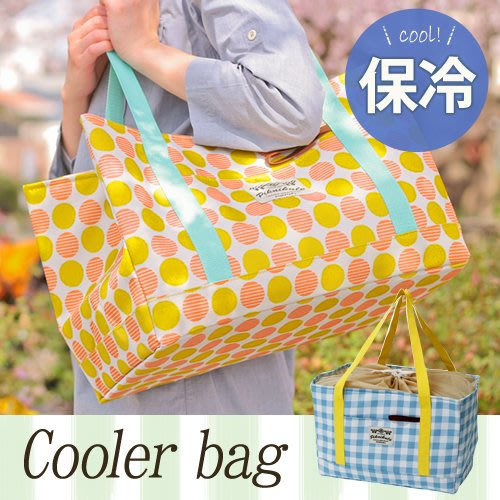 Dou Dou House 日本Mommy Field懷舊手提束口保冷溫野餐袋(三款)-(現貨)