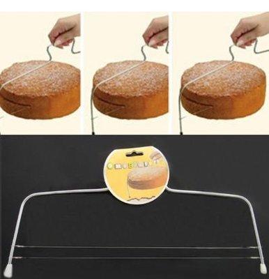 【MIMI SHOP】【麵包蛋糕雙線分層切】麵包分切器 雙線蛋糕 切片分層器 烘培工具
