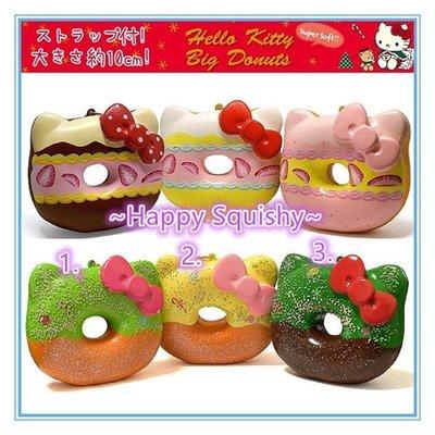 ~Happy Squishy~ 海外聖誕限定版 Hello Kitty 聖誕甜甜圈 Squishy /軟軟/減壓玩具