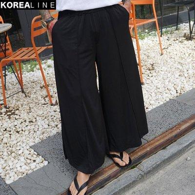 KOREALINE搖滾星球 / 抽繩休閒寬褲 / KS11147
