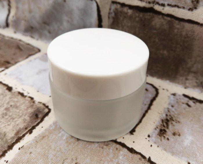 【三越Garden】磨砂瓶- 50 g 白瓶蓋