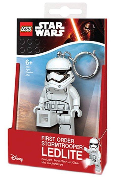 現貨【LEGO 樂高】全新正品/ 白兵 LED 鑰匙圈 星際大戰 Stormtrooper 人偶 公仔 吊飾 手電筒