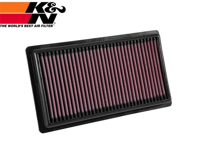 【Power Parts】K&N 高流量空氣濾芯 33-3080 TOYOTA RAV4 2.5 油電 2019-