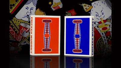 【天天魔法】【S626】正宗原廠~(藍)雞塊牌~Chicken Nugget Playing Cards~簡子
