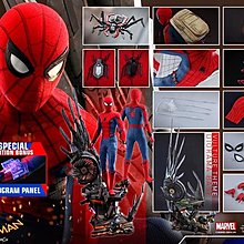 28/7 Hottoys Spiderman Homecoming 1/4 蜘蛛俠 Deluxe Version QS015B 會場版 訂單 hot toys