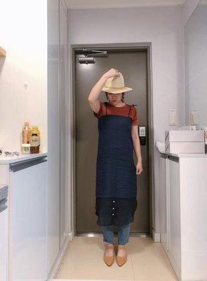 『Golden WEEK 30/30』--韓國連線--平口肩帶可綁下擺拼接洋裝
