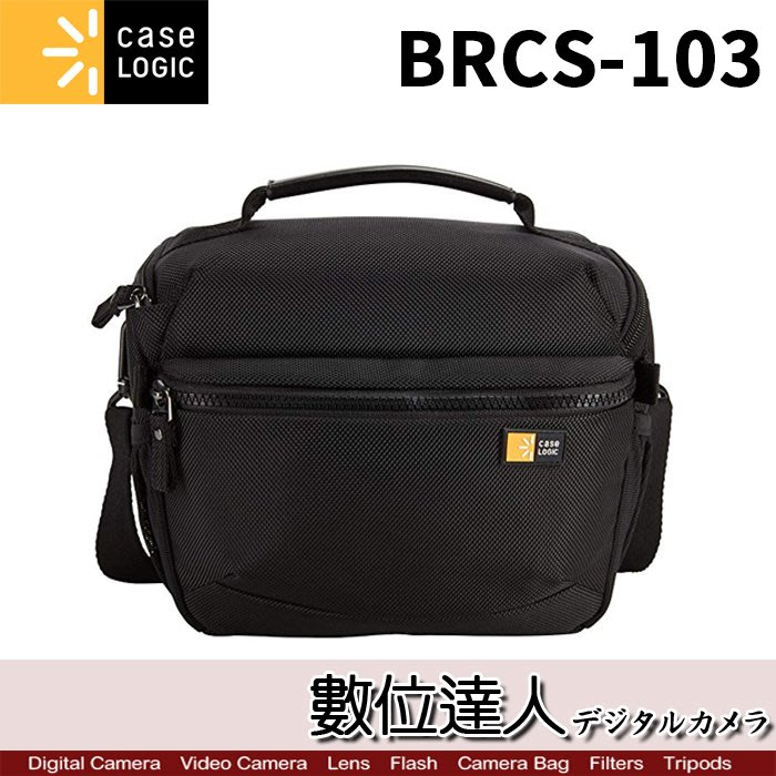 【數位達人】Case Logic 美國 凱思 BRCS-103 側背包 / 單眼 數位 相機包 一機二鏡