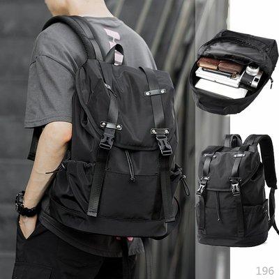 【免運】韓版 大容量 後背包 背包 書包 防盜背包 尼龍後背包 電腦包 防水背包 雙肩包 防水包 旅行包 肩背包 筆電包