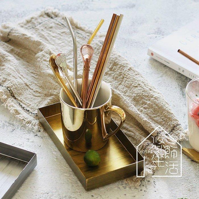 美到翻~食用級304 金色 玫瑰金 黑色 銀色不鏽鋼吸管 時尚環保吸管 直吸管 彎吸管 餐廳 咖啡店