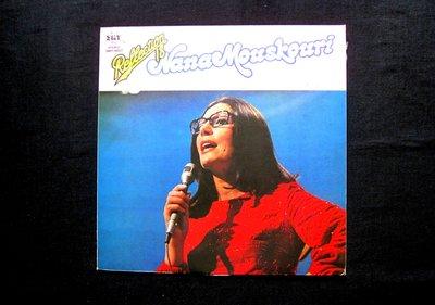 絕版黑膠唱片----NANA MOUSKOOURI----LA DERNIERE ROSE DE LETE----1箱