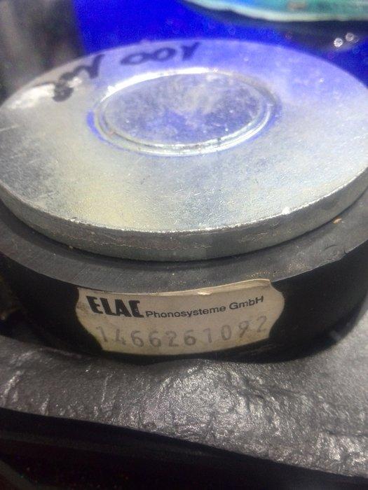 原廠ELAC高音單体1支(無修換過) 聲音正常(已售出)