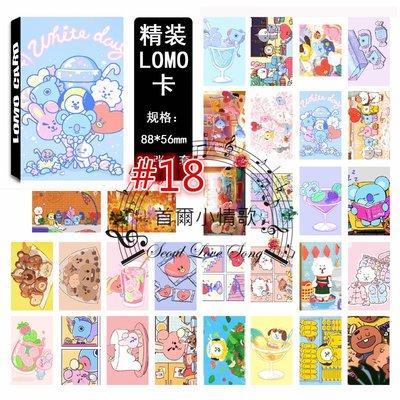 【首爾小情歌】BTS 防彈少年團 最新 集體款 團體款 V 田柾國 JIMIN LOMO 30張卡片 小卡組 #18