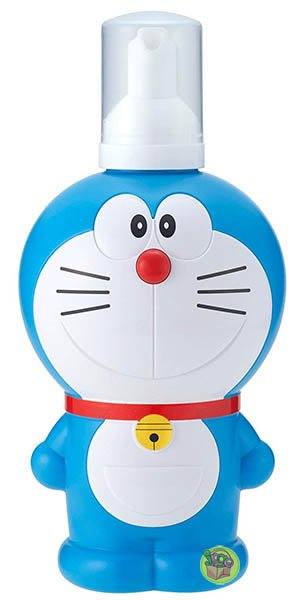 【JPGO】日本製 哆啦A夢造型罐 溫和配方泡沫洗髮精 兒童專用 250ML #524