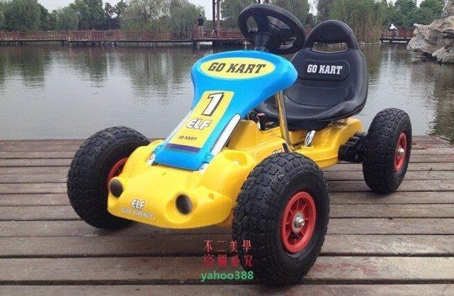 美學193卡丁車四輪兒童電動車遙控汽車可坐寶寶玩具越野童車小孩子電瓶車加上❖96128
