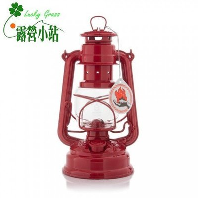 缺貨中-露營小站~【276-ROT】FEUERHAND 火手 BABY SPECIAL 古典煤油燈 經典-紅寶石