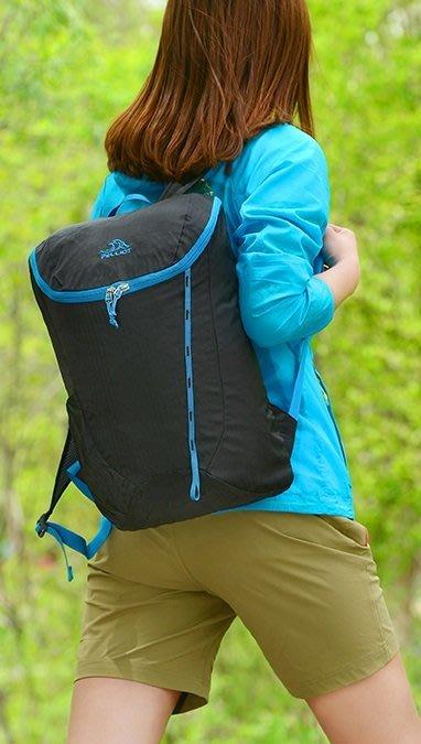 【露西小舖】Pelliot可折疊收納防潑水雙肩背包皮膚包登山背包時尚背包後背包雙肩背包雙肩背袋旅行包旅行背包手提包攻頂包