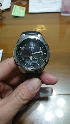 CASIO 卡西歐 WAVE CEPTOR WVA-M640男錶 電波錶 太陽能充電 高雄市