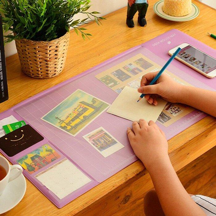 純色清新男女學生超大號創意辦公桌墊書桌墊游戲大滑鼠墊大號WY